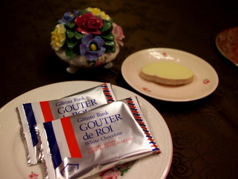 ガトーフェスタハラダのグーテ・デ・ロワ ホワイトチョコレートのパッケージ