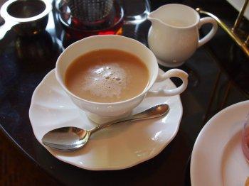 シェラトン都ホテル東京 ラウンジ バンブーの紅茶
