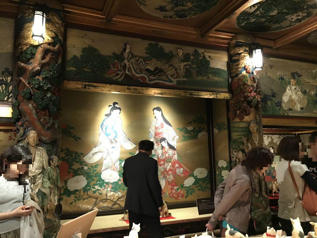 各部屋の装飾のすばらしさにびっくりしました。