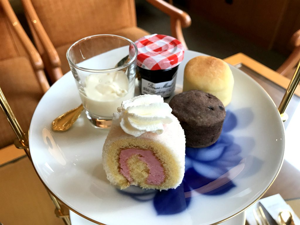 sapporo grand hotel afternoontea pastry