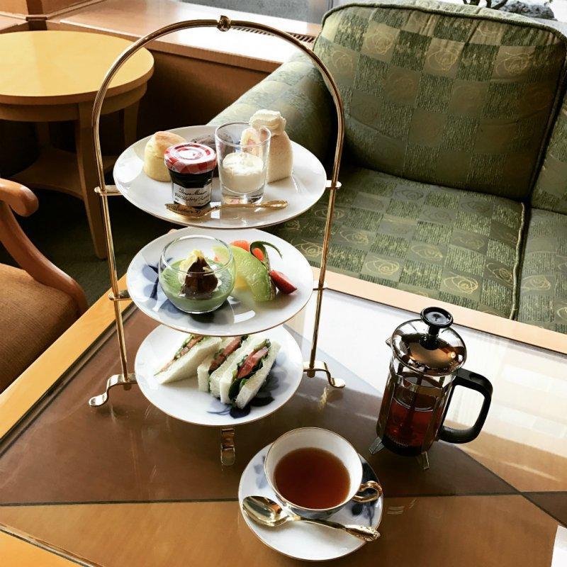 札幌グランドホテルアフタヌーンティー