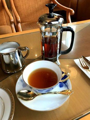 札幌グランドホテルのアフタヌーンティーの紅茶セイロン