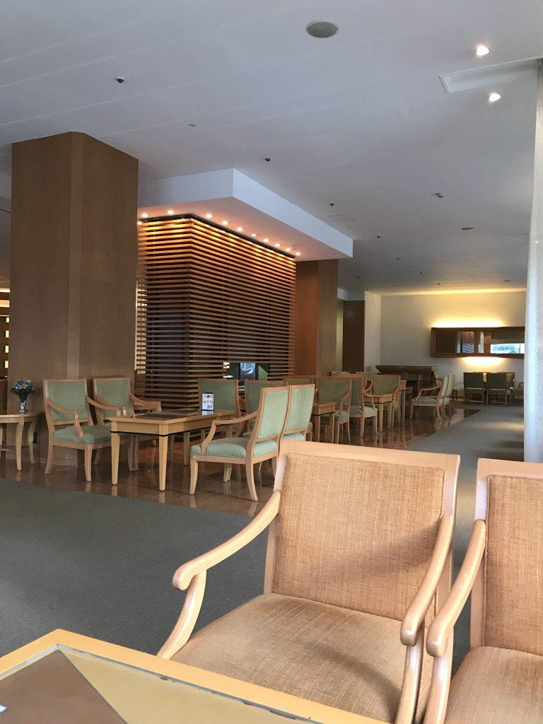 札幌グランドホテル ロビーラウンジ ミザール内装