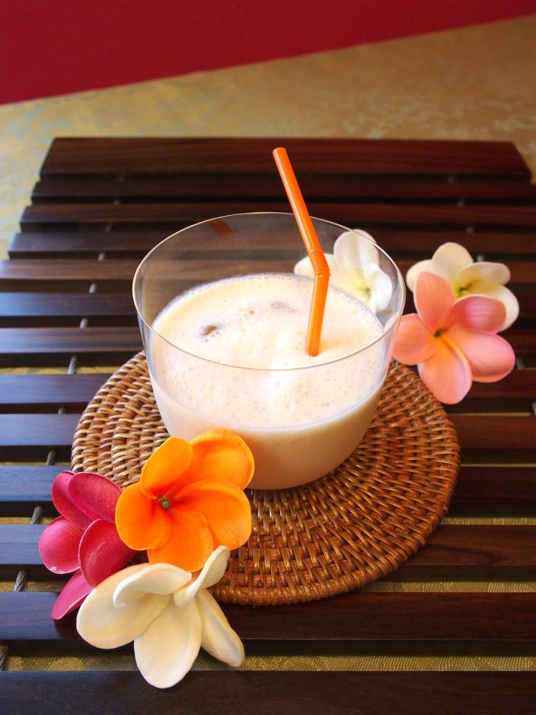 バナナバニラアイスティーの作り方