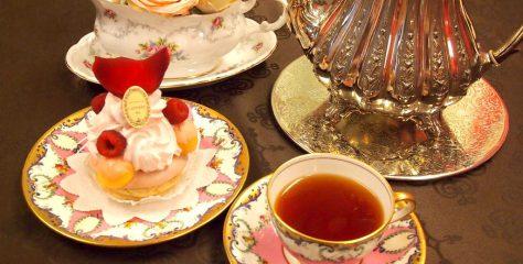 <お菓子と紅茶のマリアージュ>ラデュレの「サントノレローズフランボワーズ」に合う紅茶は?