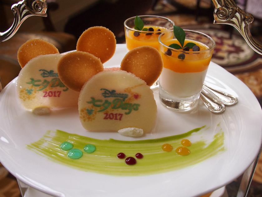 disneylandhotel tanabata afternoontea sweets