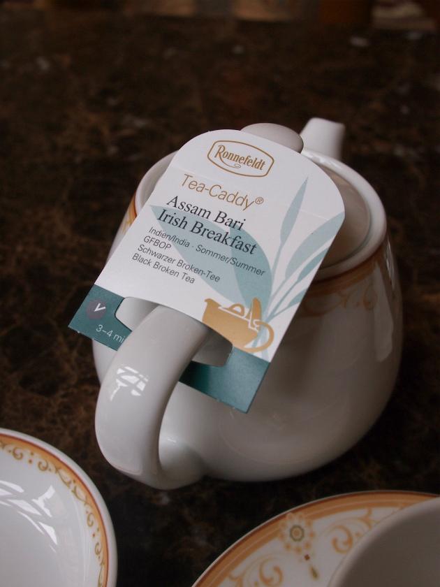 ロンネフェルトの紅茶です。