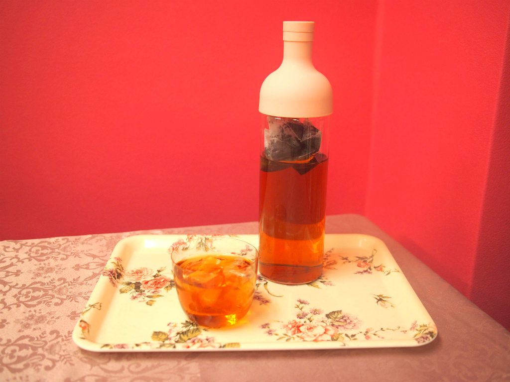 超かんたん水出し紅茶の出来上がり。