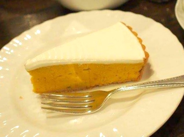 かぼちゃのタルト