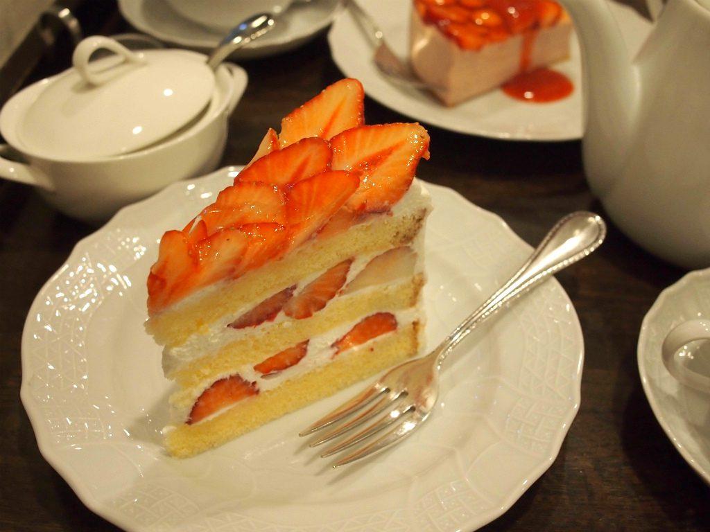 こちらは「いちごのショートケーキ」です。
