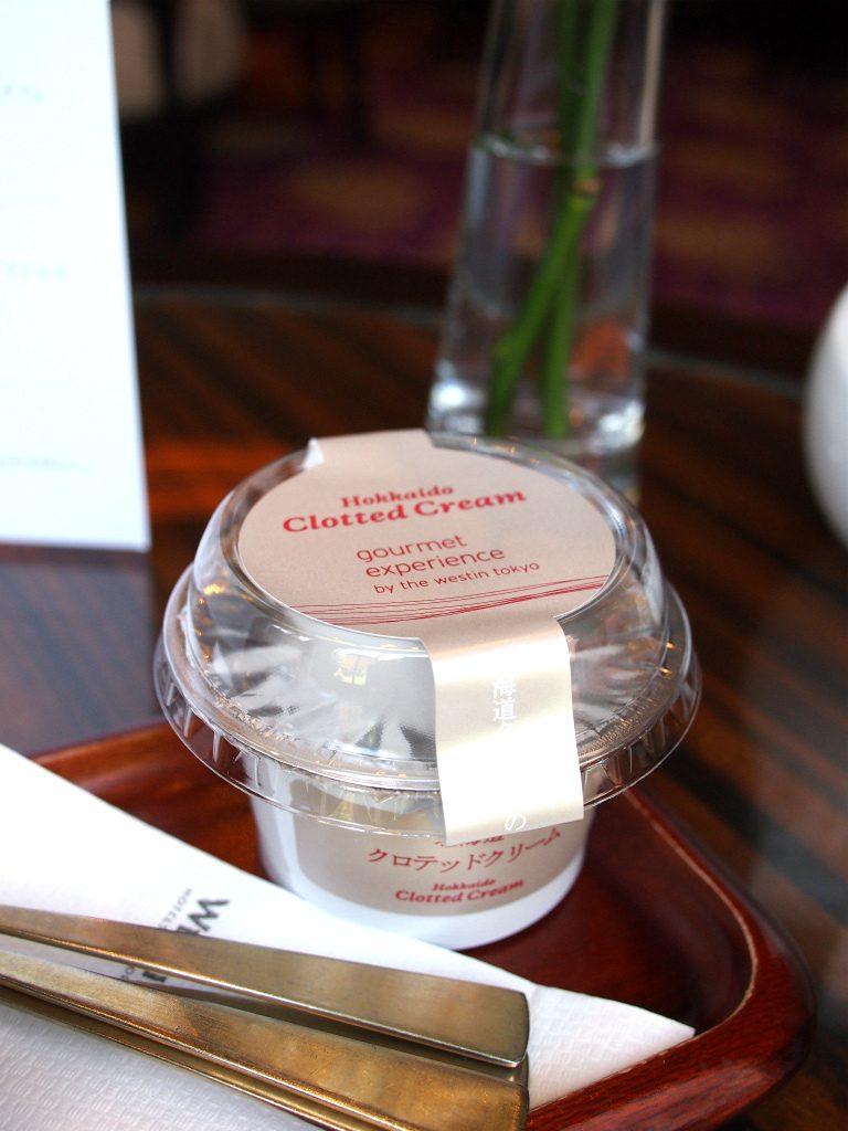 クロテッドクリームは北海道産