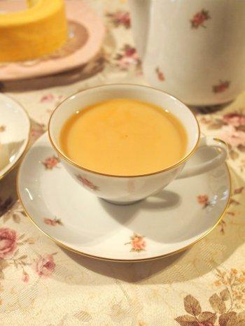 アッサムはミルクティーにしても美味しい紅茶です。