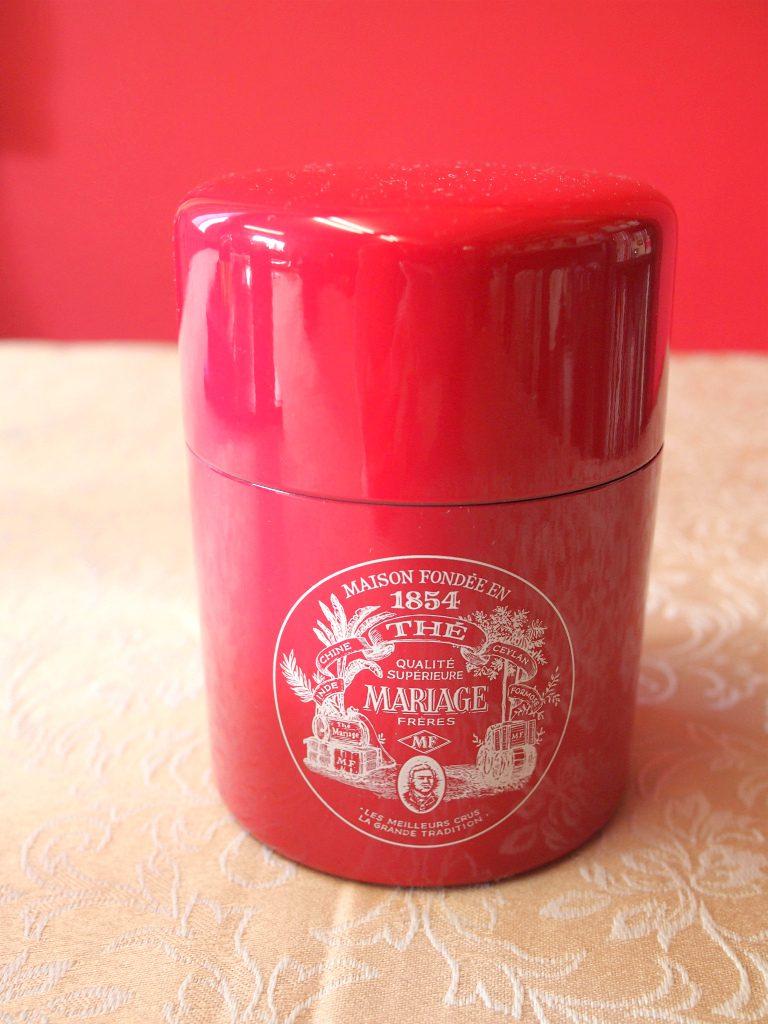 こちらはマリアージュフレールの茶筒