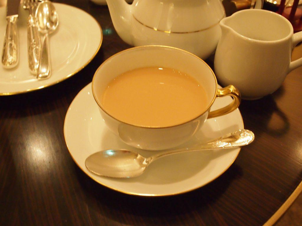 名古屋マリオットアソシアホテル ロビーラウンジ シーナリーの紅茶