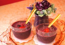 <紅茶レシピ>暑い日のお客さまのおもてなしにぴったり!ミックスベリーティースムージー