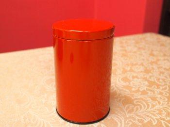 こちらも缶のみで売っている紅茶缶。100g用。こちらは合羽橋の道具街の缶屋さんで購入しました。