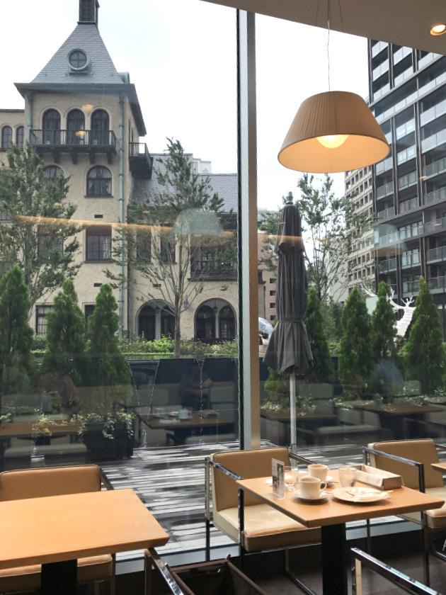 ラ・プレシューズ 紀尾井町店の窓からの眺め