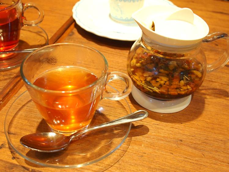 ラ・プティ・メルスリーの紅茶