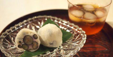 <お菓子と紅茶のマリアージュ>微笑庵のしずくもちに合う紅茶は?