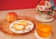 <お菓子と紅茶のマリアージュ>夏のフルーツ「桃」を食べる時に相性のいい紅茶は?