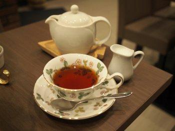 澤井珈琲 銀座店のアフタヌーンティーの紅茶