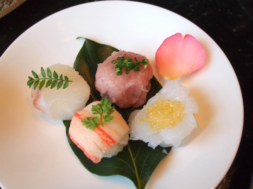 2段目のお寿司