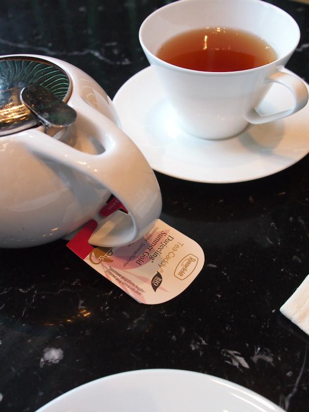 レヴィータの紅茶はロンネフェルトのものです。