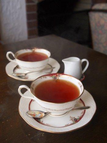 こちらはランチセットの紅茶
