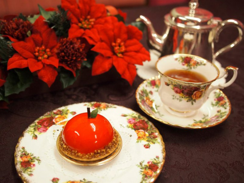 WITTAMER(ヴィタメール)のケーキと紅茶