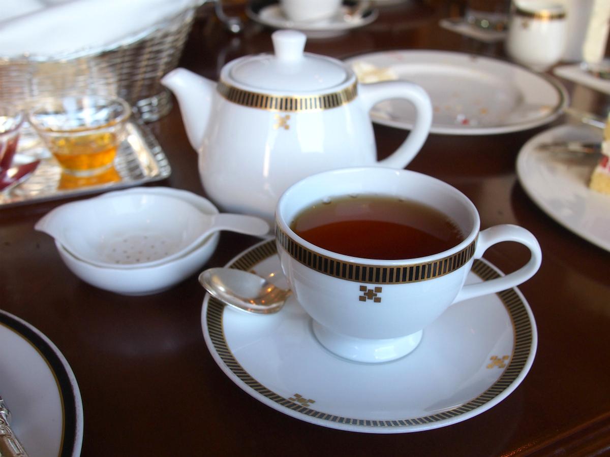 こちらはクォリティーダージリン。この日で一番美味しいと思った紅茶でした。