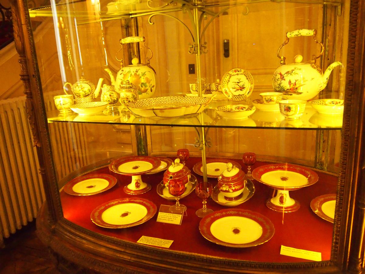 洋食器もたくさん展示してありました。