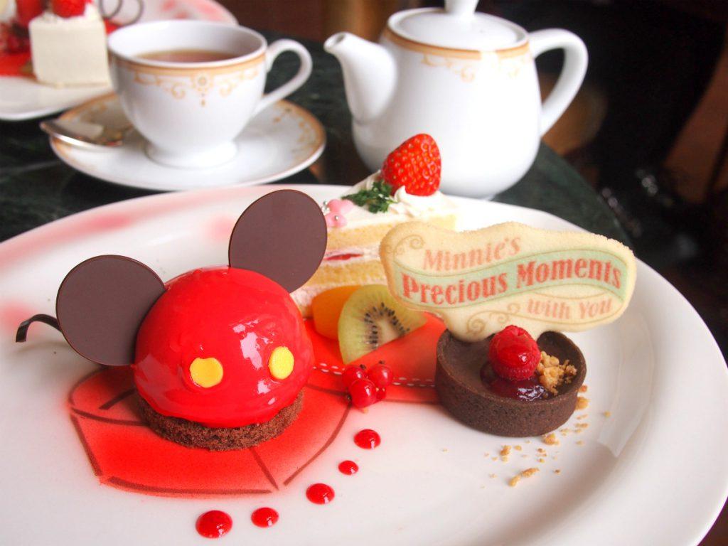 disneylandhotel 2018minnie afternoontea dessert