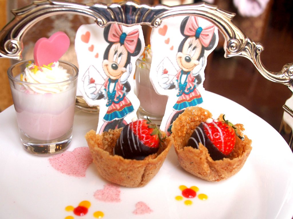 disneylandhotel 2018minnie afternoontea sweets