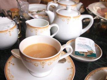 東京ディズニーランドホテル ドリーマーズ・ラウンジの紅茶