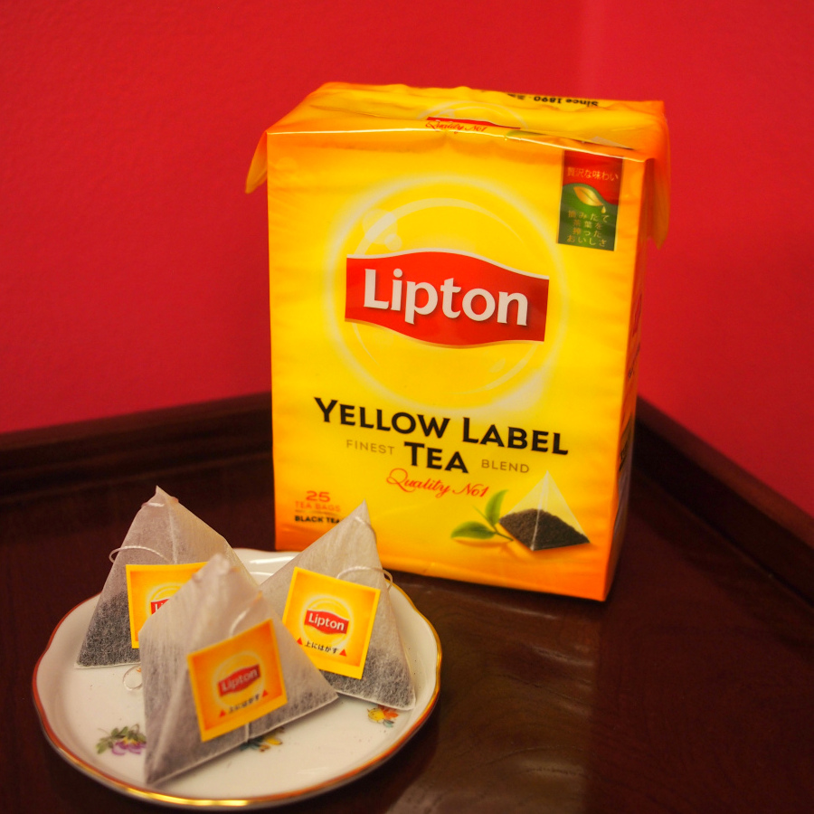 lipton yellowlabel teabag