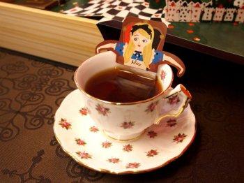 suiyoubinoalice chocolatebaumkuchen tea1