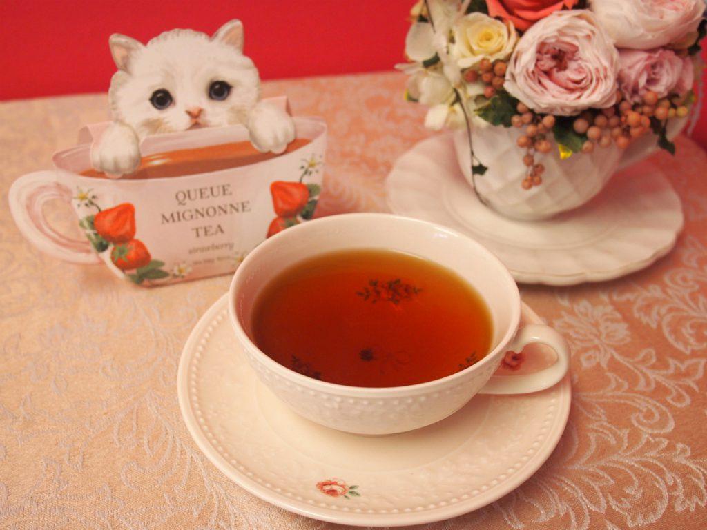 渋みが少なく飲みやすい紅茶でした。
