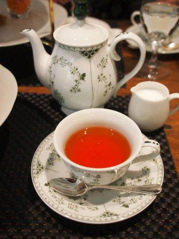 アフタヌーンティーの紅茶はアッサム