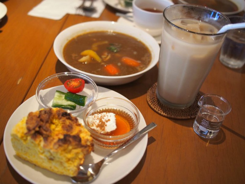 鎌倉紅茶専門店ミミロータスのランチセット