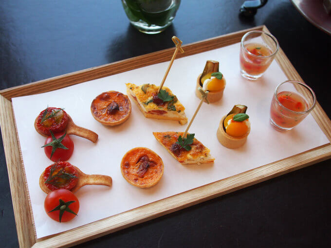 andaz tomato afternoontea savoury
