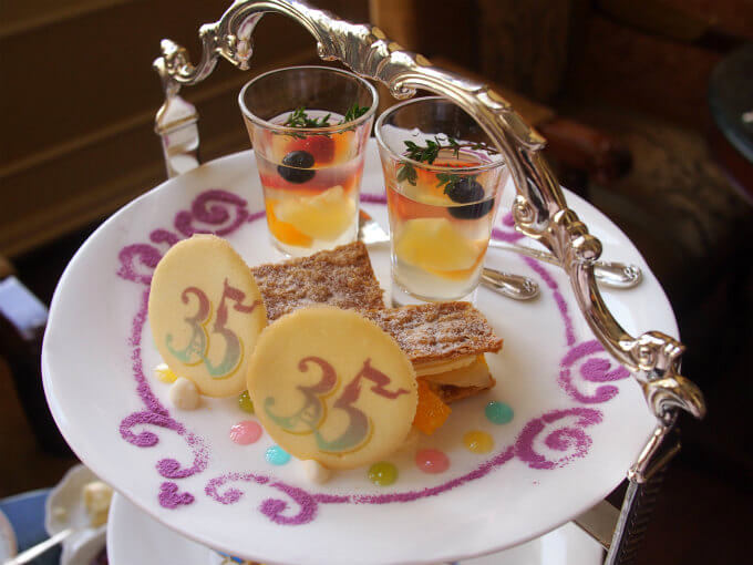 disneylandhotel 35th anniversary afternoontea sweets1