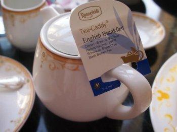 東京ディズニーランドホテル ドリーマーズ・ラウンジの紅茶はロンネフェルト。セイロンはイングリッシュブレックファストです。