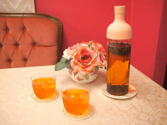 ハリオフィルターインボトルはデザインがオシャレなので、お客様をおもてなしするときにテーブルの上においても雰囲気を損なわないのです。