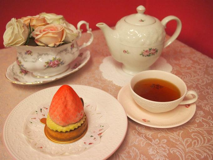 イルフェジュールのムーランと紅茶