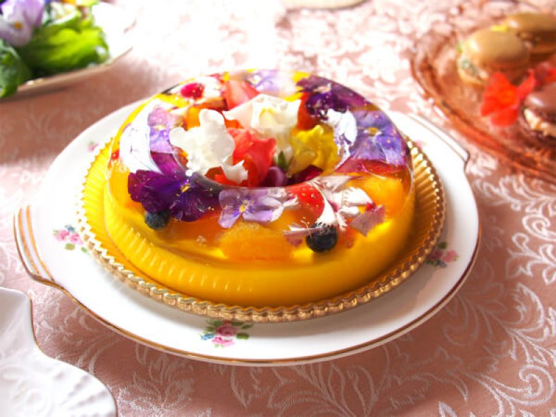 spring flower teaparty sweets2