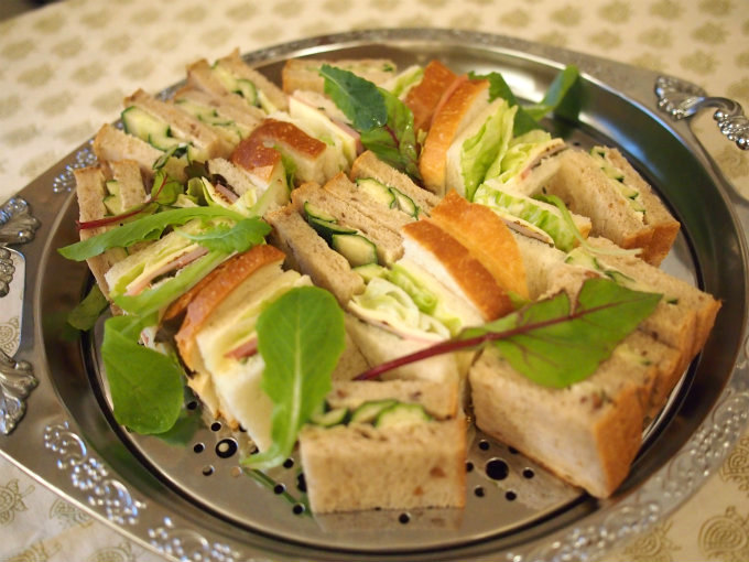 tomodoll afternoontea sandwich