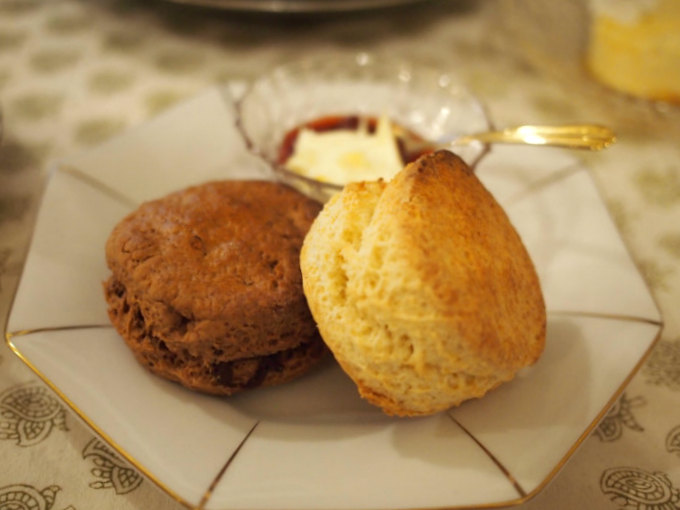 tomodoll afternoontea scone