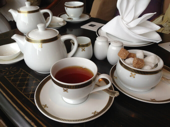 帝国ホテル ラウンジアクアの紅茶