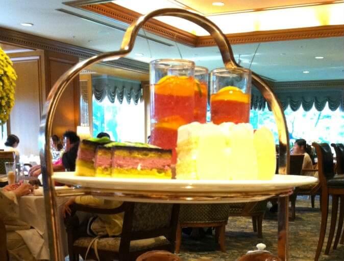 ホテル椿山荘 東京のアフタヌーンティーセット