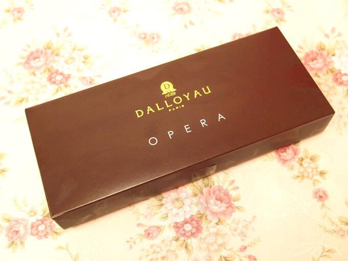 オペラのパッケージ こちらは5個入りのパッケージです。
